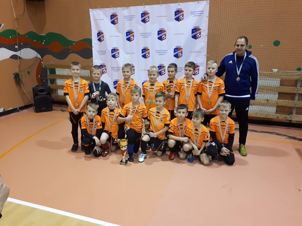 "Futbolo turnyre Kybartuose dalyvavo net 4 futbolo mokyklos ""Fortūna"" komandos"
