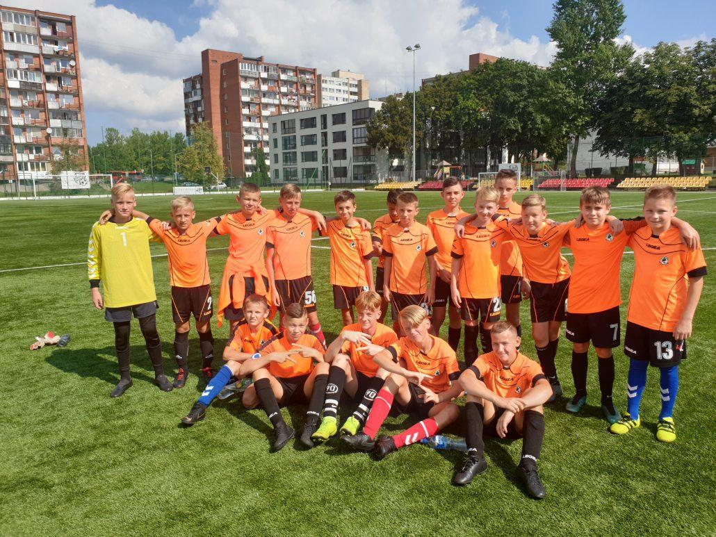 """Kauno futbolo mokyklos """"Fortūna"""" komandos rezultatai LT vaikų čempionate (2006m. amžiaus grupė)"""
