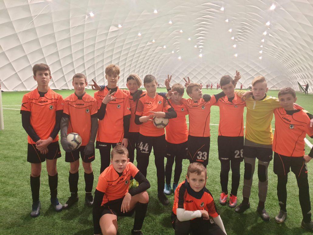 "Futbolo mokyklos ""Fortūna"" komanda rungtyniavo turnyre Lenkijoje"